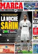 Portada diario Marca del 22 de Noviembre de 2011