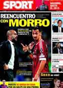 Portada diario Sport del 22 de Noviembre de 2011