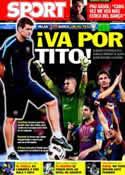 Portada diario Sport del 23 de Noviembre de 2011
