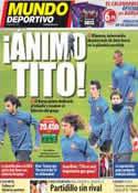 Portada Mundo Deportivo del 23 de Noviembre de 2011