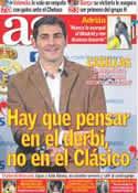 Portada diario AS del 24 de Noviembre de 2011