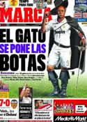 Portada diario Marca del 24 de Noviembre de 2011