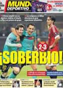 Portada Mundo Deportivo del 24 de Noviembre de 2011
