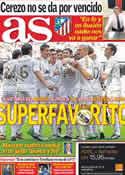 Portada diario AS del 25 de Noviembre de 2011