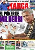 Portada diario Marca del 25 de Noviembre de 2011