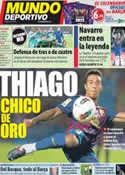 Portada Mundo Deportivo del 25 de Noviembre de 2011