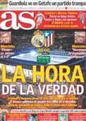 Portada diario AS del 26 de Noviembre de 2011