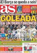 Portada diario AS del 27 de Noviembre de 2011