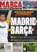 Portada diario Marca del 27 de Noviembre de 2011