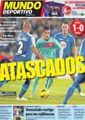 Portada Mundo Deportivo del 27 de Noviembre de 2011