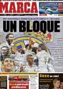 Portada diario Marca del 28 de Noviembre de 2011