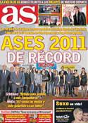 Portada diario AS del 29 de Noviembre de 2011