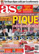 Portada diario AS del 30 de Noviembre de 2011