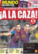 Portada Mundo Deportivo del 30 de Noviembre de 2011
