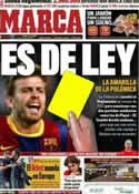 Portada diario Marca del 1 de Diciembre de 2011