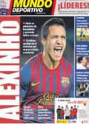 Portada Mundo Deportivo del 1 de Diciembre de 2011