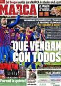 Portada diario Marca del 2 de Diciembre de 2011