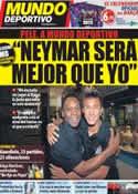 Portada Mundo Deportivo del 2 de Diciembre de 2011