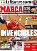 Portada diario Marca del 3 de Diciembre de 2011