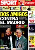 Portada diario Sport del 3 de Diciembre de 2011