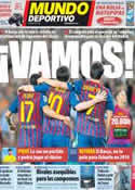 Portada Mundo Deportivo del 3 de Diciembre de 2011