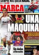 Portada diario Marca del 4 de Diciembre de 2011