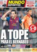 Portada Mundo Deportivo del 4 de Diciembre de 2011