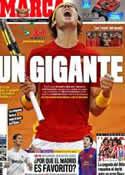 Portada diario Marca del 5 de Diciembre de 2011