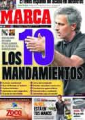 Portada diario Marca del 6 de Diciembre de 2011