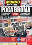 Portada Mundo Deportivo del 6 de Diciembre de 2011