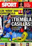 Portada diario Sport del 7 de Diciembre de 2011
