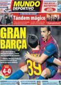 Portada Mundo Deportivo del 7 de Diciembre de 2011