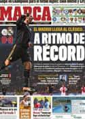 Portada diario Marca del 8 de Diciembre de 2011