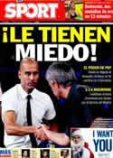 Portada diario Sport del 9 de Diciembre de 2011