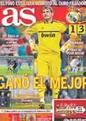 Portada diario AS del 11 de Diciembre de 2011