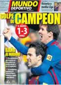 Portada Mundo Deportivo del 11 de Diciembre de 2011