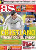 Portada diario AS del 12 de Diciembre de 2011