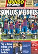 Portada Mundo Deportivo del 12 de Diciembre de 2011