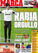 Portada diario Marca del 13 de Diciembre de 2011