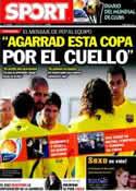 Portada diario Sport del 13 de Diciembre de 2011