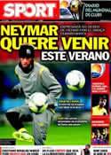 Portada diario Sport del 14 de Diciembre de 2011