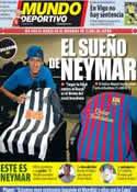 Portada Mundo Deportivo del 14 de Diciembre de 2011