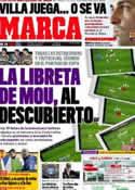 Portada diario Marca del 15 de Diciembre de 2011