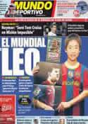 Portada Mundo Deportivo del 15 de Diciembre de 2011