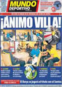 Portada Mundo Deportivo del 16 de Diciembre de 2011