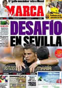 Portada diario Marca del 17 de Diciembre de 2011