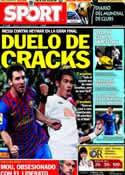 Portada diario Sport del 17 de Diciembre de 2011