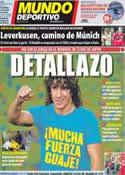 Portada Mundo Deportivo del 17 de Diciembre de 2011