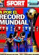Portada diario Sport del 18 de Diciembre de 2011