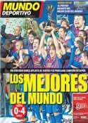 Portada Mundo Deportivo del 19 de Diciembre de 2011